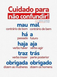 Word Family List, English Today, Mental Map, Learn Brazilian Portuguese, Portuguese Lessons, Grammar Tips, Portuguese Language, Bullet Journal School, Study Planner