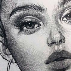 Art Sketchbook Easy Love – Art World 20 Cool Art Drawings, Realistic Drawings, Art Drawings Sketches, Easy Drawings, Drawing Ideas, Chalk Drawings, Pencil Sketch Drawing, Pencil Art Drawings, Drawing Base