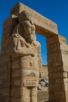 Kalabsha Temple - Egypt. The Temple of Kalabsha (also Temple of Mandulis) is an Ancient Egyptian temple that was originally located at Bab al-Kalabsha (Gate of Kalabsha)