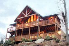 The beautiful Majestic Point Lodge in Gatlinburg TN