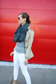 jillgg's good life (for less) | a style blog: my outfit: a traveling scarf! #ootd #whatiwore