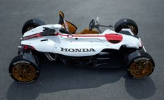 Honda's 2&4 Concept Mashes 1960s Indy Car, F1 into Modern MotoGP //