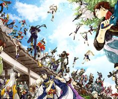 touken ranbu/all member/ Fan Anime, Anime Love, Anime Art, Touken Ranbu Characters, Nikkari Aoe, Manga Games, Fujoshi, Sword, Anime Couples