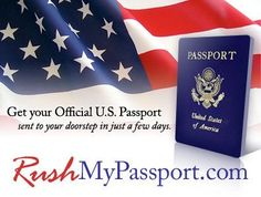 """Learn """"How RushMyPassport.com helps you to expedite your #Passport and visa services."""""""