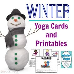Winter Yoga Cards Cover