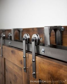 Bypass Barn Door Hardware System | Rustica Hardware --check Restoration Hardware Site