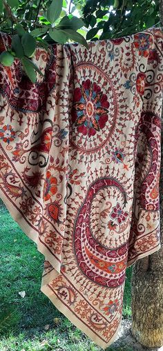 Contemporary Embroidery, Ikat Fabric, Fabric Strips, Central Asia, Handmade Pillows, Traditional Art, Hand Embroidery, Needlework, Monitor