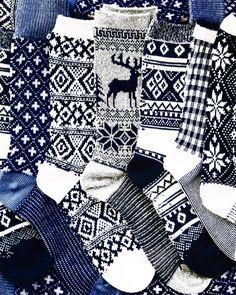 Winter foot sweaters//