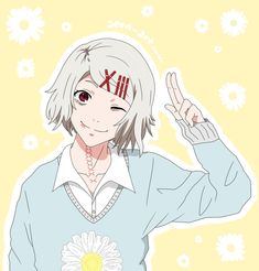 I'm finding out more and more of my favorite guy anime characters are voiced by girls.. n.n I still ♡ Juuzou though.
