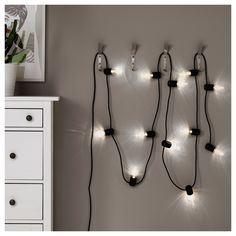 SVARTRA γιρλάντα φωτισμού LED με 12 λαμπτήρες, εξωτερικού χώρου - IKEA