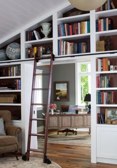 The Library Room | The House that A-M Built