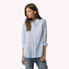 The Chambray Shirt is the seasons highlight: from the latest Tommy Hilfiger shirts collection for women. Free returns & delivery over 700 SEK.
