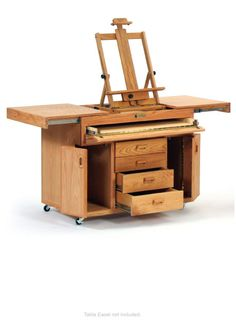 Studio Art Station- wouldn't this be nice in the private studio area?  Would love to have this, along with a studio!!!
