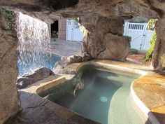 ClifRock Outdoor Spaces' grottos and caves will turn your pool into a secluded island getaway, complete with waterfalls and hidden chill spots. Design your one-of-a-kind water feature by calling now!