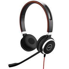 4419ef0a895 Evolve 40 Stereo Headset For Pc, Laptop, Mobile Phone, Smartphone,  Softphone And