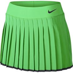 Nike Womens Nike Court Victory Tennis Skirt Electro GreenBlack 728773300  Size Medium   You can get more details by clicking on the image. 4c8abd165d860