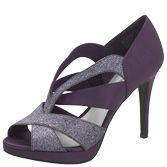 I really REALLY love these!!  New Arrivals Fioni NightWomen's Halo Chop-Out Glitter Sandal