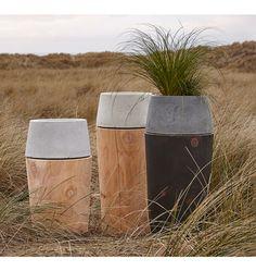 Barter Revolve Concrete Planter - | Rejuvenation