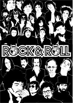 Rock&Roll Poster