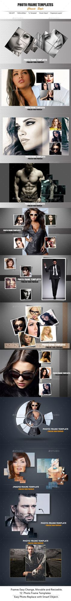 12 Photo Frame Style #photography Download: http://graphicriver.net/item/12-photo-frame-style-/13524721?ref=ksioks
