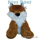 "Haha! A Fox that Rocks!!  What Does The Fox Say Singing Stuffed Animal Called Foxy Roxy - A Plush Fox Animal that sings ""What Does the Fox Say"" - Based on the song by Ylvis"