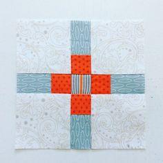 Splendid Sampler, block 73, Plus Love.  (Laila Nelson)