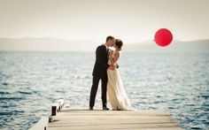 Beautiful wedding on the ocean