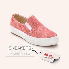 Pembe Pullu Sneakers http://www.modsimo.com/phvg~u~pembe-pullu-ayakkabi-babet-spor