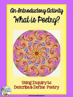 Free lesson to introduce poetry to your students and make reading poetry fun and meaningful!