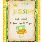"""Looking for a fun craft for both frogs and toads? Check this freebie out!  This goes great with my """"Fun with Frogs"""" Unit and my """"Frog Word Work"""". E..."""
