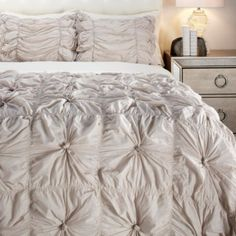 Isabella Quilted Bedding Set from Z Gallerie