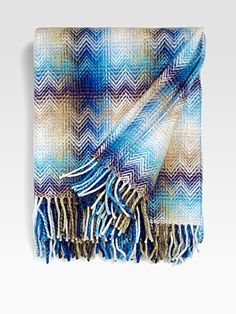 #SaksLLTrip  Surprise concert under the stars?  Be ready with this all occasion throw!    Missoni - Montgomery Throw - Saks.com