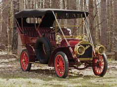 1906 Studebaker Model G Touring - (Studebaker Corporation, South Bend, Indiana, 1902-1964)