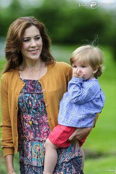 princesse Mary avec le prince vincent