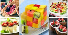 15 asombrosas maneras de presentar una ensalada de frutas