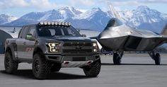 Ford F-22 Raptor, imponente 'troca' inspirada en la aviación militar ... - Mundo Hispanico