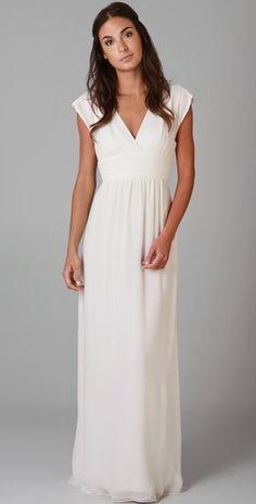Casual ivory maxi dresses