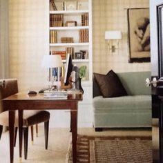 Den guest room ideas on pinterest table lamps lumbar - Den guest room design ideas ...