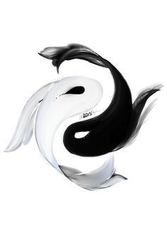 LongBoard Ying Yang Design by PettiePrincess on DeviantArt