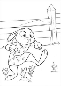Zootopia Coloring Pages 13