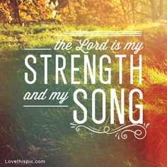 the Lord is my strength quotes photography outdoors god jesus sun