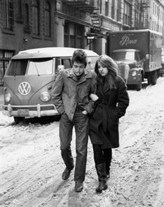 There are good reasons a Volkswagen became a mainstay of hippie culture. Suze Rotolo remains one of my favorite hippie chick models. .
