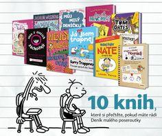 10 knih, které si přečtěte, pokud máte rádi Deník malého poseroutky – Knihkupectví Neoluxor