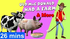 Popular English rhymes such as 'Old MacDonald Had A Farm' were now animated for the kids. 'Old MacDonald Had A Farm' was first published in Kidsone pre. Baby Songs, Kids Songs, English Rhymes, Farm Nursery, Nursery Rhymes Songs, Happy Song, Rhymes For Kids, Kids Videos, Rainbow Dash
