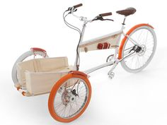 my bike. when it comes out. TY Yves Behar! It's fun & I won't fall off!