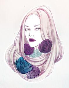 Makeup Trends - Soleil Ignacio Illustrations