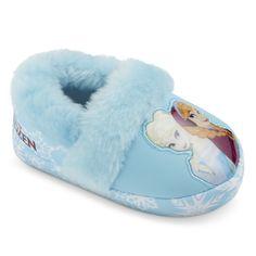 Disney® Frozen Toddler Girl's Slippers - Blue : Target