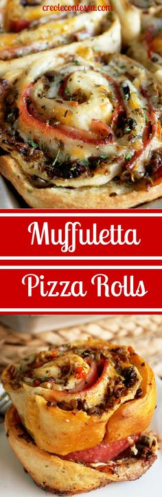 If you like the Muffuletta, the classic Italian sandwich, you will love this recipe for Muffuletta Pizza Casserole. This easy casserole recipe combines the taste of a Muffuletta sandwich with the taste of pizza rolls. Appetizer Recipes, Dinner Recipes, Appetizers, Lunch Recipes, Pizza Rolls, Pizza Pizza, Pizza Dough, Good Food, Yummy Food