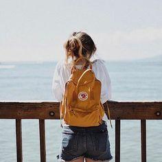 Visit Stockholm with a Swedish icon, the Kånken backpack from Fjallraven. Mochila Kanken, Kanken Backpack, Backpack Outfit, Travel Backpack, Insta Photo Ideas, Insta Pic, Instagram Picture Ideas, Insta Ideas, Instagram Pose