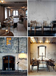 Noma - Copenhagen Two Michelin star restaurant Restaurant Bar, Restaurant Design, Cafe Interior, Interior And Exterior, Nordic Kitchen, Cafe Design, Bakery Design, Shop Interiors, Retail Design